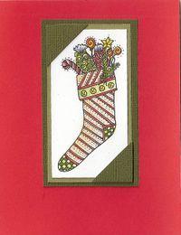 Stocking-card