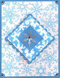 Snowflake-Stencil-Technique
