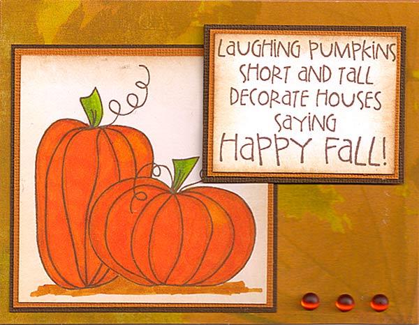 Pumpkin-Card