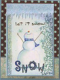 Snowman-outside
