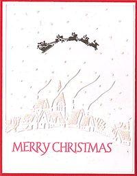 Cuttlebug-village-with-Santa