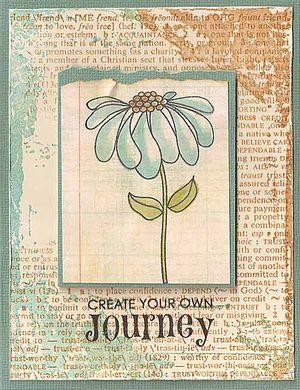Aged-Background-Flower