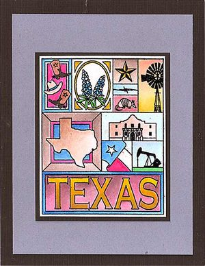 Texas-Collage