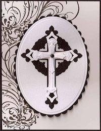 Black-White-Cross