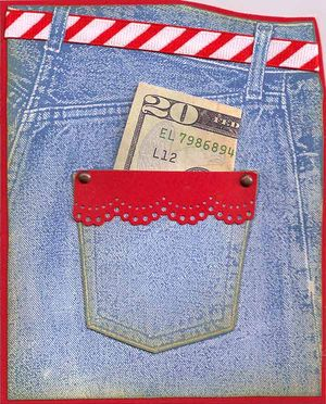Jeans-Pocket-money-card