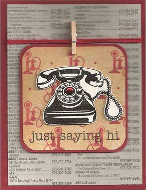 Just-Saying-Hi