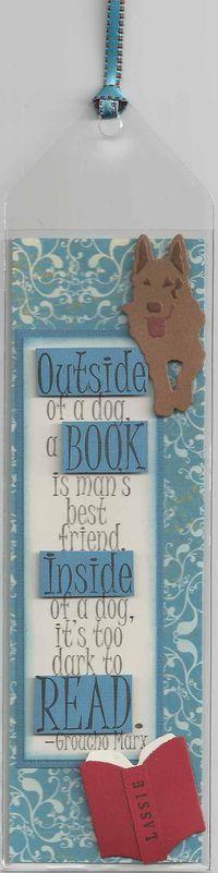 Dog-Bookmark