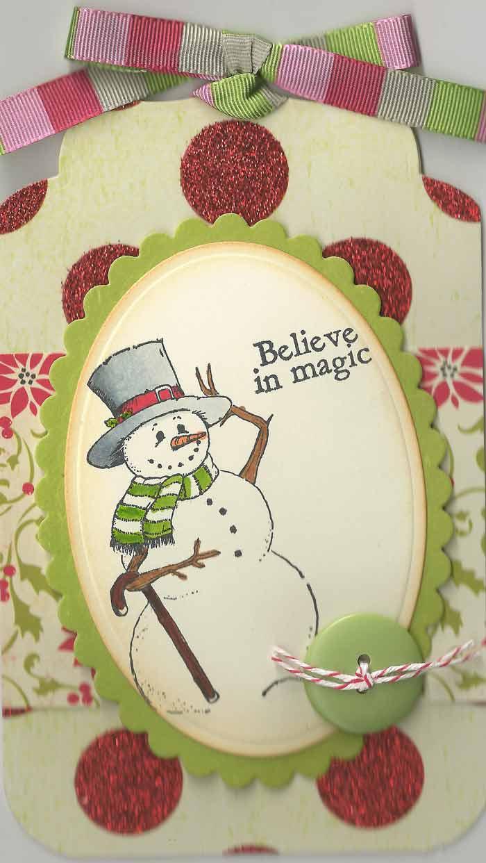 Snowman-Tag
