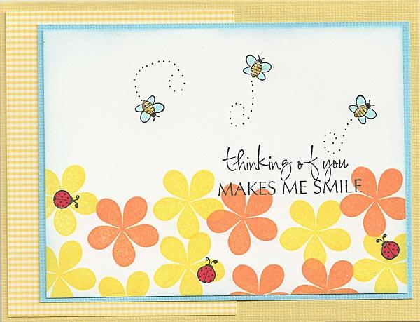 Bees-Flowers-Ladybugs