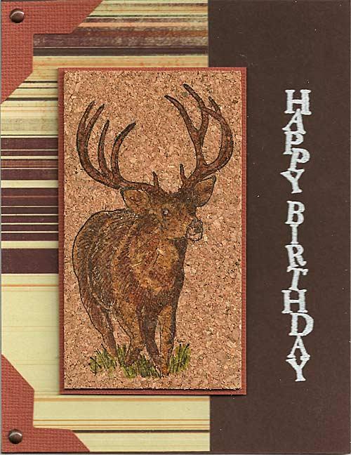 Buck-on-cork