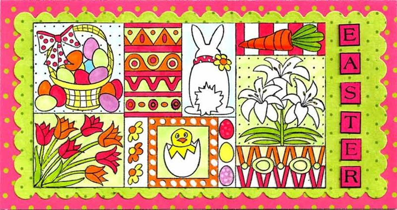 Outlines-Collage-Bunny