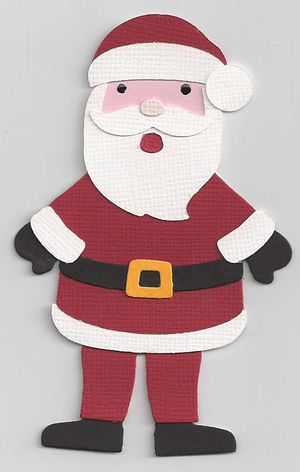 Santa-Paper-Doll