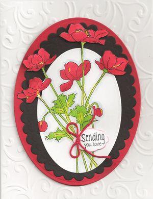 Poppy-Stamp
