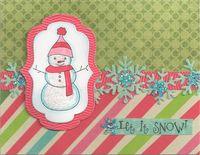 Glittered-Snowman