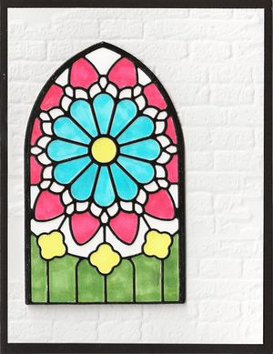Arched-Stained-Glass-Window