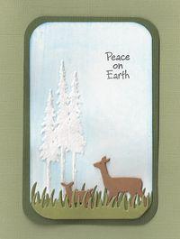 Pine-Trees-with-Deer