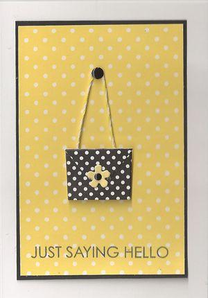 Yellow-purse