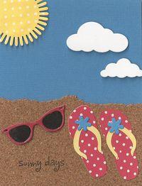 Red-Flip-Flops-on-Beach