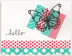 Washi-Tape-Butterfly