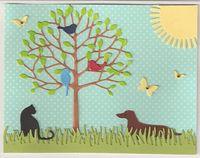 Dachsund-Cat-Tree