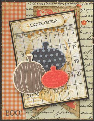 Calendar-Pumpkins