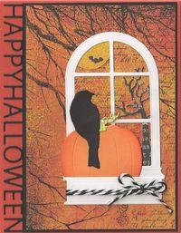 Bird-on-Pumpkin