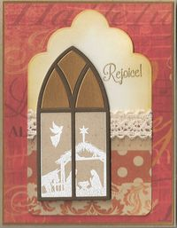 Gothic-window-nativity