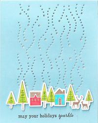 Holiday-Village-Snowfall