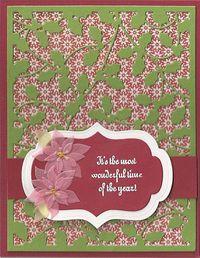 Holly-Poinsettias