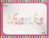 Letterpress-Thanks