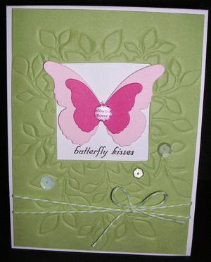 Embossed-card