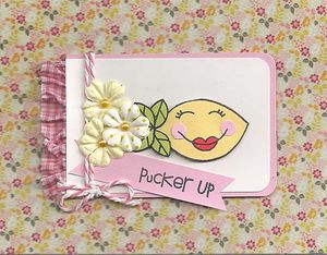 Pucker-up
