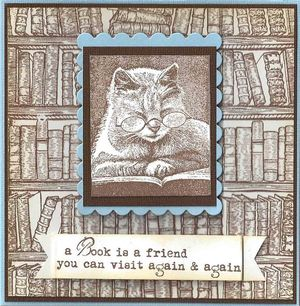 Books-with-cat
