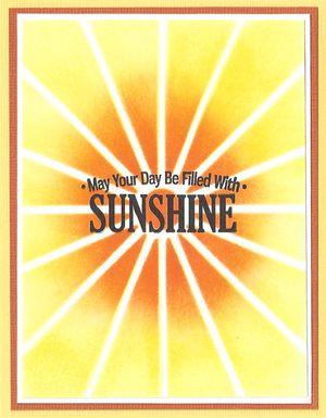 Stencil-Sunshine