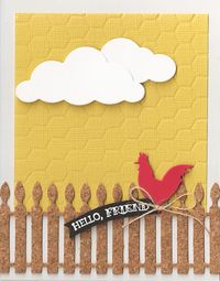 Rooster-Fence