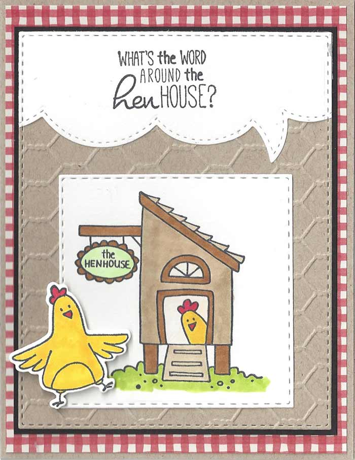 Hen-House-Red-Check
