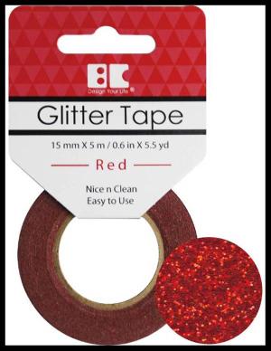 Glitter-tape-red