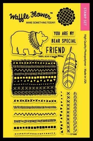 Stamp-Tribal-Bear