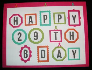 29-Birthday