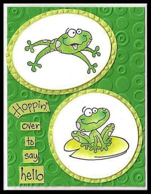 Stampendous-Hoppy-over