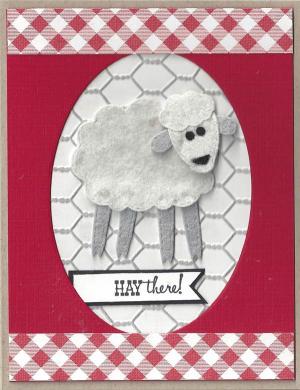 Felt-Sheep