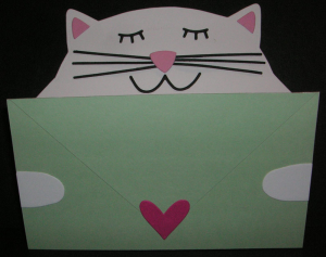 Cat-with-Letter
