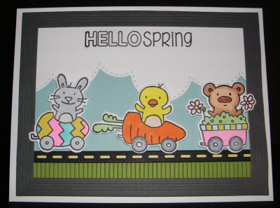 Hello-Spring-Fringe-Border