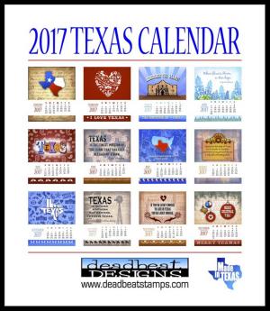Texas-Calendar
