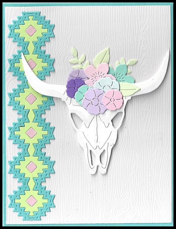 Cow-Skull-Pastels