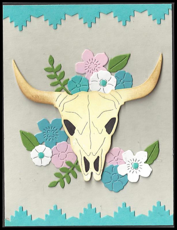 Cow-Skull-Turquoise